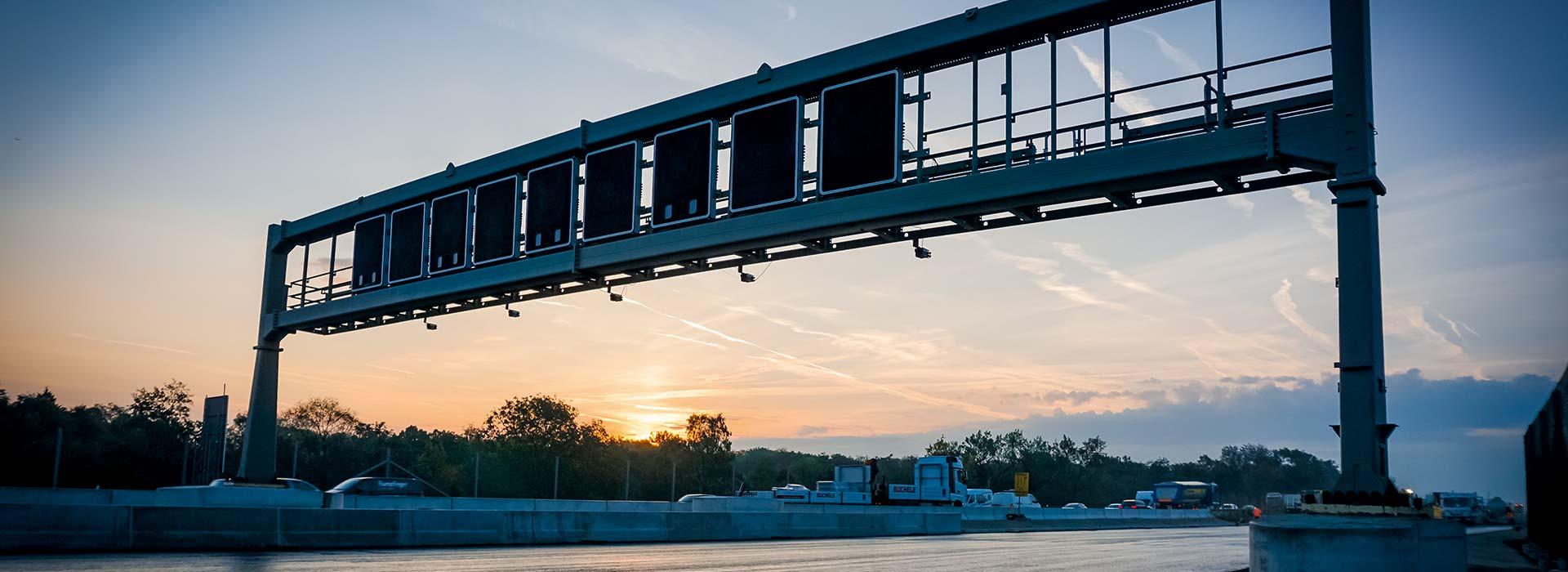 Brückenmontage A99